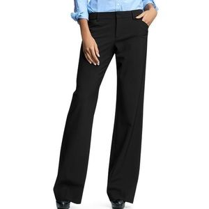 Gap Perfect Trouser Pants Black 4L Long Slacks 4